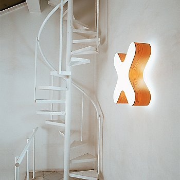 Orange finish, illuminated, in use