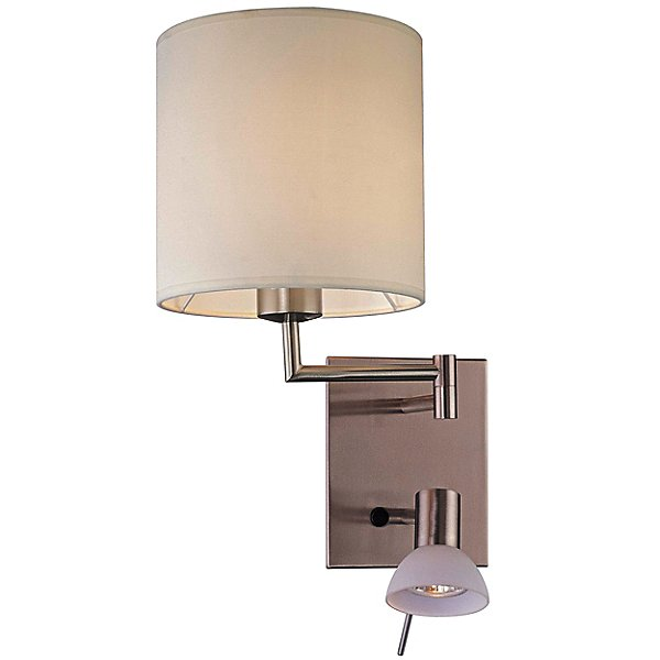 Georges Reading Room Swing Arm Wall Lamp