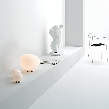 Gregg Table Lamp collection, in use