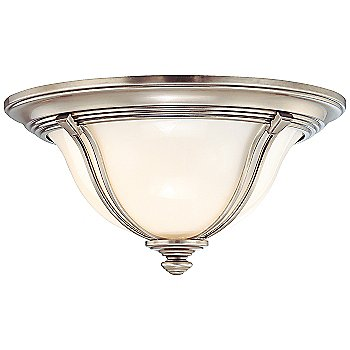 Shown in Antique Nickel finish, Medium size