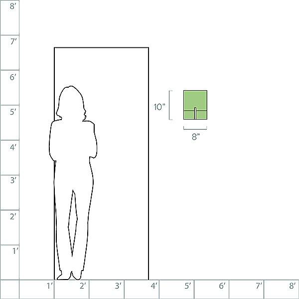Staffa Tall Wall Sconce