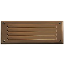 Louvered Deck Light