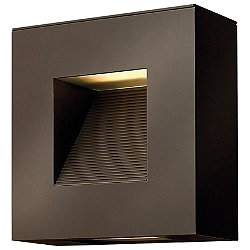 Luna Small Square Outdoor Wall Light