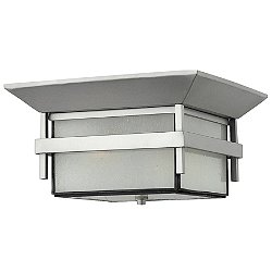 Harbor 2 Light Flush Outdoor Ceiling Light