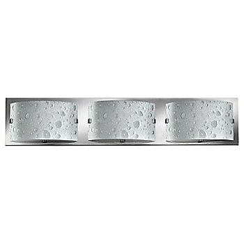 Shown in Chrome finish, 3 Lights