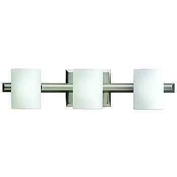 Brushed Nickel finish / 3 Lights