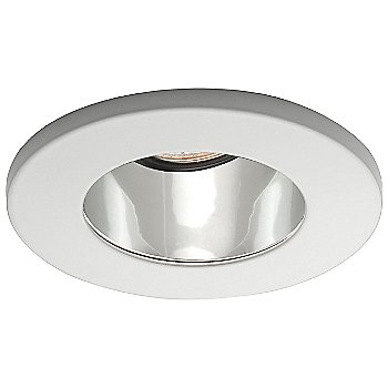 Shown in Clear Baffle with White Trim finish