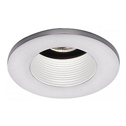 3 Inch Preminum Low Voltage Basic Baffle Trim - 25 Degree Adjustment from Vertical - HR-D324