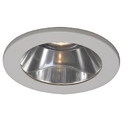 4 Inch Premium Low Voltage Shower Trim - Drop Dish Glass Dome - HR-D418-S