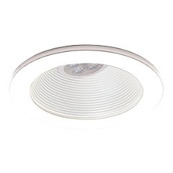 4 Inch Low Voltage Step Baffle Trim - 35 Degree Adjustment from Vertical - HR-8411