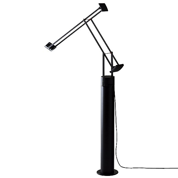 Tizio LED Lamp with Floor Support