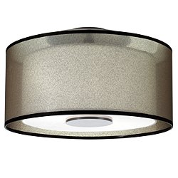 Saturnia Semi-Flush Mount Ceiling Light