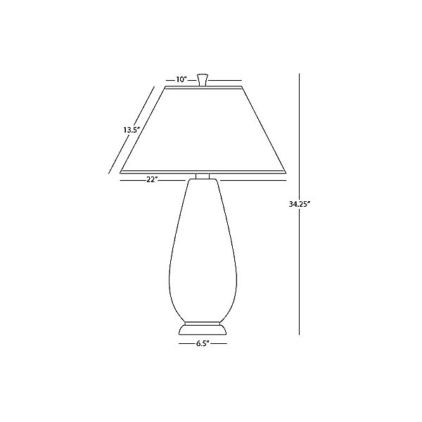 Beaux Arts 9866 Table Lamp
