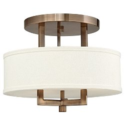 Hampton Semi-Flush Mount Ceiling Light