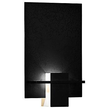 Black finish / White Art glass color