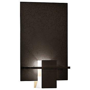 Bronze finish / White Art glass color