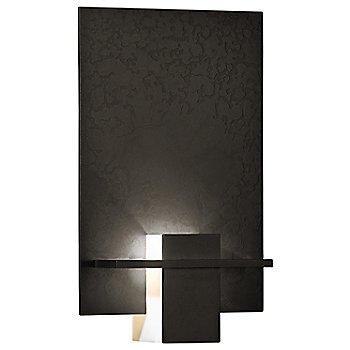 Dark Smoke finish / White Art glass color