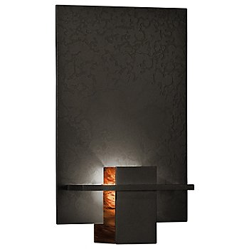 Dark Smoke finish / Topaz Art glass color
