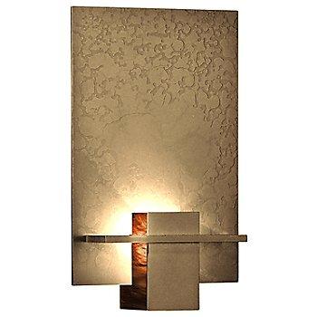 Gold finish / Topaz Art glass color