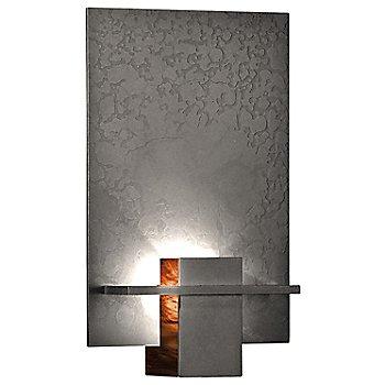 Natural Iron finish / Topaz Art glass color