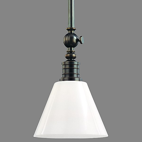 Darien Pendant with Glass Shade