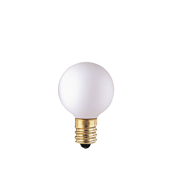 10W 130V G9 E12 Matte White Bulb