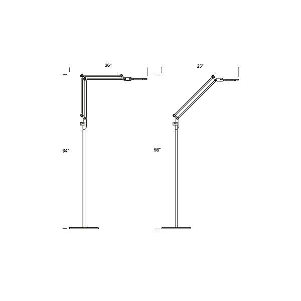 Link Floor Task Lamp
