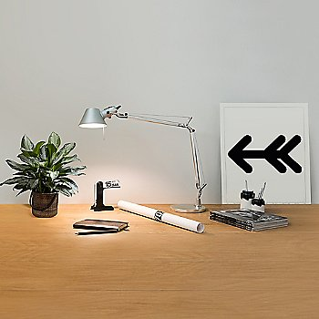 Aluminium finish / in use