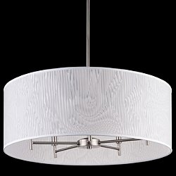 Walker 5-Arm Drum Chandelier Light