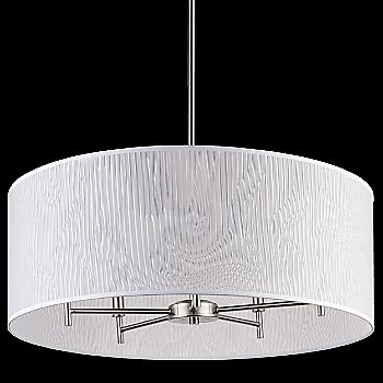 Natural Linen shade / Brushed Nickel finish