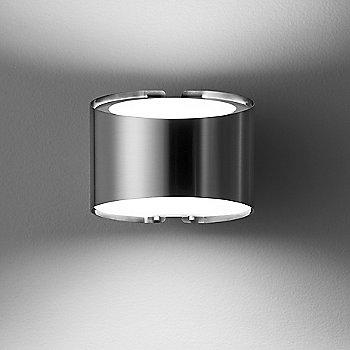 Brushed Nickel  finish, illuminated