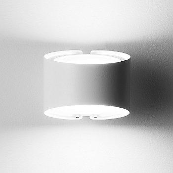 Shiny White finish, illuminated