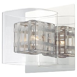 Jewel Box 1 Light Bath Wall Light