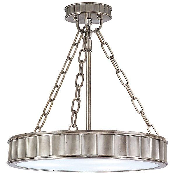 Middlebury Round Semi-Flushmount Light