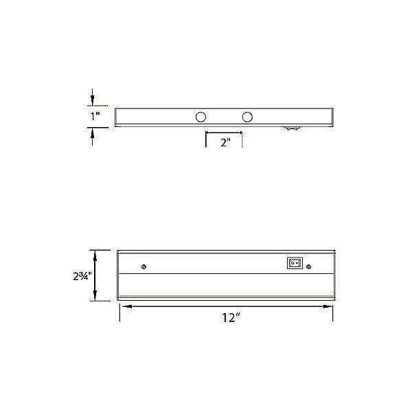 LEDme 4-Light Light Bar