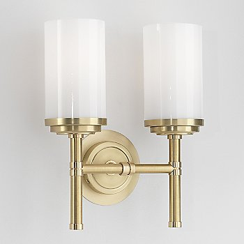 Shown in Brushed Brass with Polished Brass
