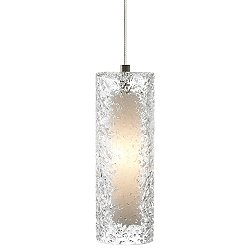 Mini Rock Candy Cylinder Low Voltage Pendant Light