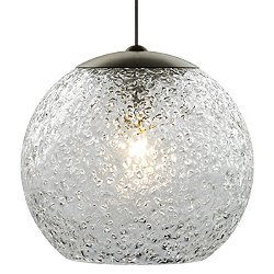 Mini Rock Candy Round Low Voltage Pendant Light