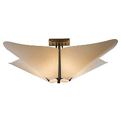 Kirigami Semi-Flush Mount Ceiling Light