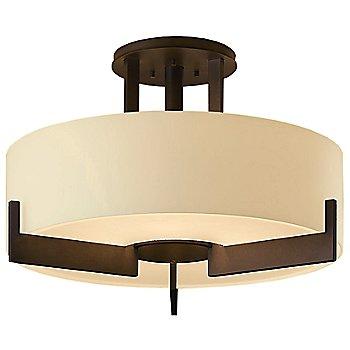 Bronze finish / Pearl glass color