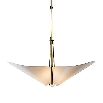 Shown in Gold finish with Spun Frost shade color