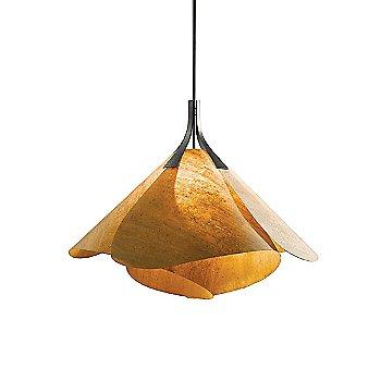 Burnished steel / Cork Shade color