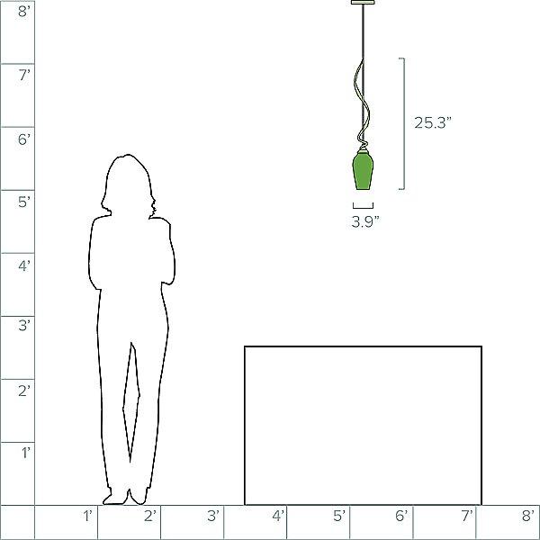 Flora Adjustable Pendant Light