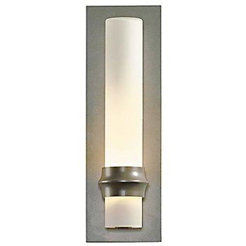 Burnished Steel finish /  Opal shade   Small size