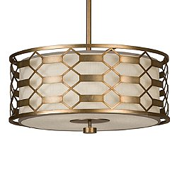 Allegretto 787540 Drum Pendant Light