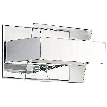 Transparent / Chrome finish, Small size