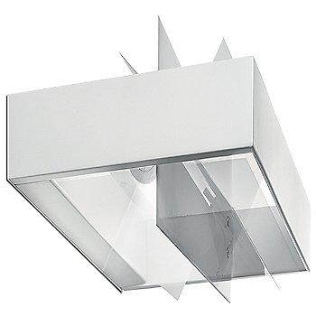 Transparent / White finish, Small size