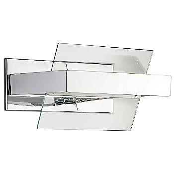 Transparent / Chrome finish, Large size