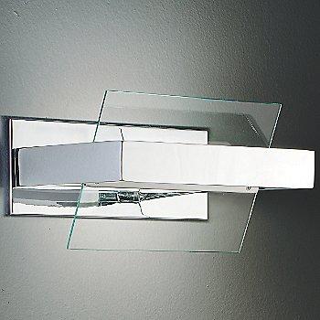 Transparent with Chrome finish
