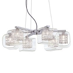Jewel Box 6 Light Chandelier